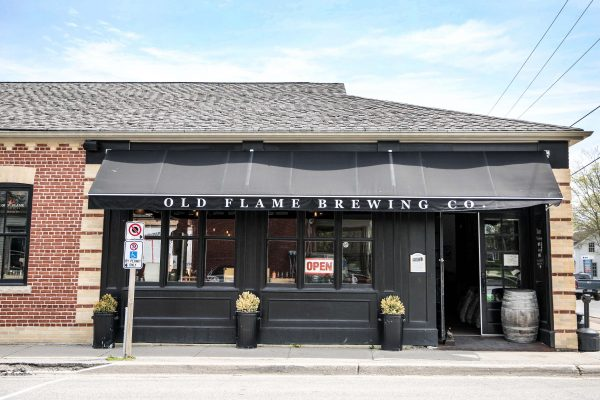 Old Flame Brewing Exterior - Port Perry