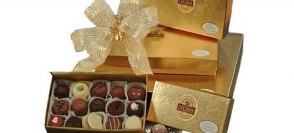 Nutty chocolatier truffles