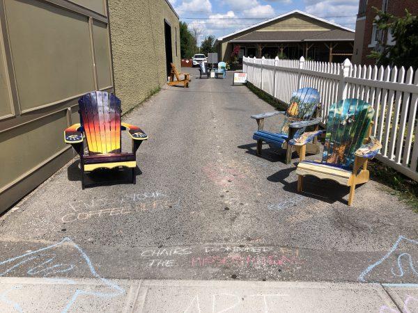 painted muskoka chairs